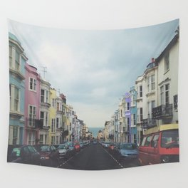 Brighton Houses Wall Tapestry