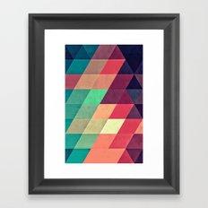 xy tyrquyss Framed Art Print
