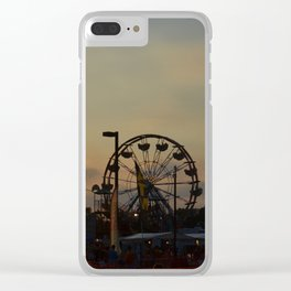 Carnival Ride Clear iPhone Case
