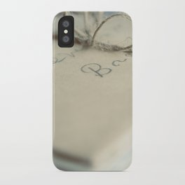 Letters To You iPhone Case