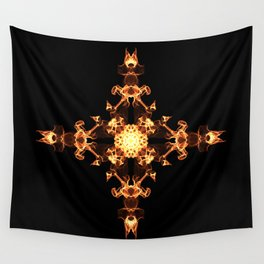 Fire Cross Wall Tapestry