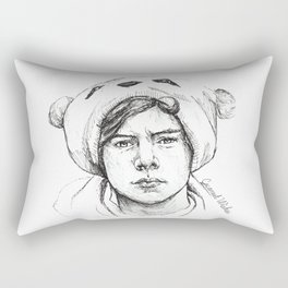 Fetus Harry sketch Rectangular Pillow