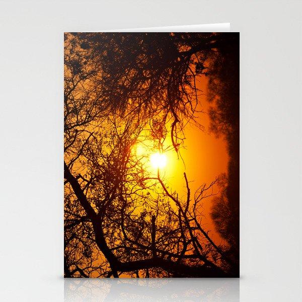 Forest Sunrise Stationery Cards
