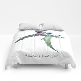 Sharkdactyl Nomdactylus Comforters