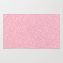 Tiny Triangles - Pink Rug
