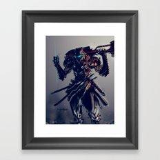 Triblade Framed Art Print
