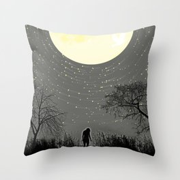 My Darkest Star Throw Pillow
