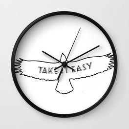 The Eagles - Take it easy Wall Clock