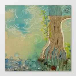 Power Roots Canvas Print