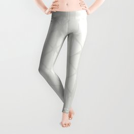 Simply Braided Chevron Lunar Gray Leggings