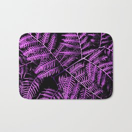 Purple Bracken Bath Mat