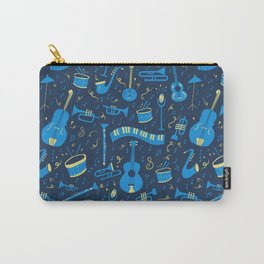 The Spirit of Jazz Pattern Carry-All Pouch