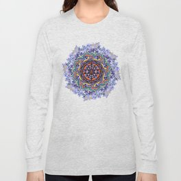 En Force Sri yantra Long Sleeve T-shirt