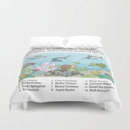 Go Fish! Duvet Cover