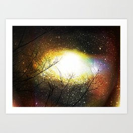Eye Wide Opened Art Print