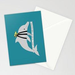 Zissou Dolphin Stationery Cards