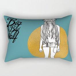 Big Bad Wolf#2 Rectangular Pillow