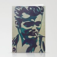 james franco Stationery Cards featuring James by Artistry by Briana