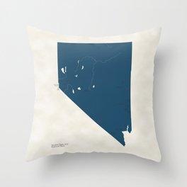 Nevada Parks - v2 Throw Pillow