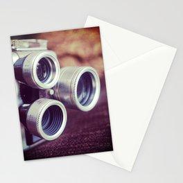 Vintage movie camera Stationery Cards