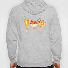 Breakfast Pin-Ups Hoody