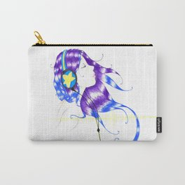 Music of the Soul: Lavender and Star Carry-All Pouch