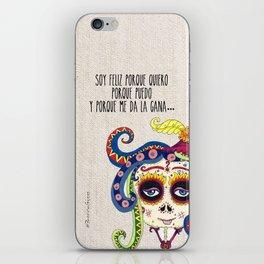 La Catrina de Patricia Fornos iPhone Skin