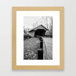 Newfield Covered Bridge 1853 Framed Art Print