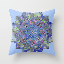 LOTUS glow Throw Pillow