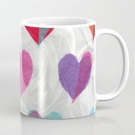 Hearts on Swirls Coffee Mug