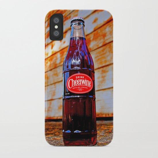 Refreshing Cheerwine iPhone Case