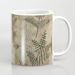 Ferns Beige Coffee Mug