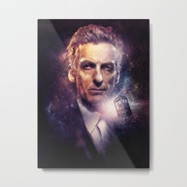 The Twelfth Doctor Metal Print
