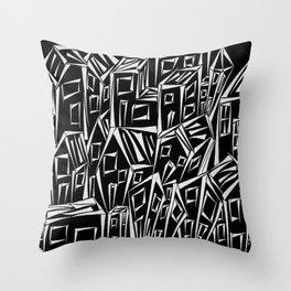 Small City Throw Pillow