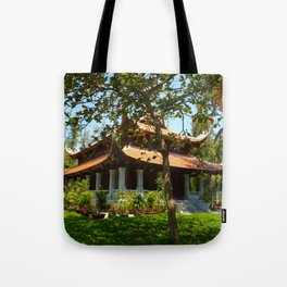 Vietnamese Temple Tote Bag
