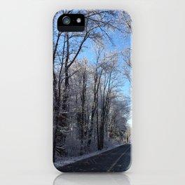 Lunenburg Road iPhone Case