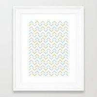 arrow Framed Art Prints featuring Arrow by C Designz