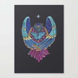 Eagle Totem Canvas Print