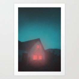 The shelter Art Print