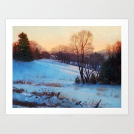 Winter Hush Art Print