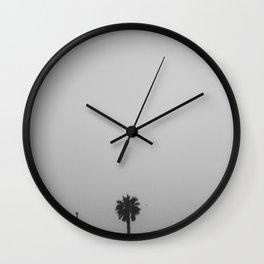 palm tree peek Wall Clock