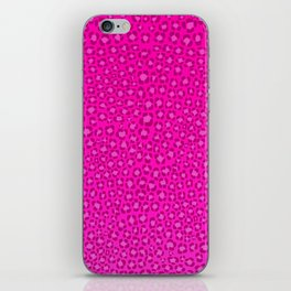 Wild Thing Hot Pink Leopard Print iPhone Skin