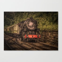 Express Train to Whitby Canvas Print