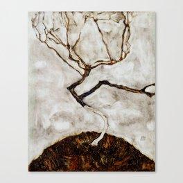 "Egon Schiele ""Small Tree in Late Autumn"" Canvas Print"