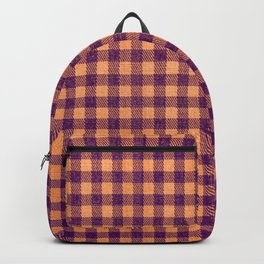 Halloween Gingham Backpack