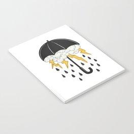 Umbrealla Storm Notebook