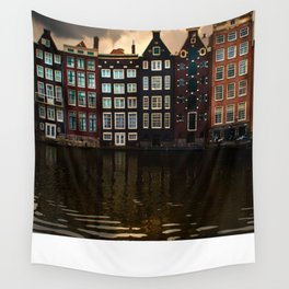 Postcards from Amsterdam Wall Tapestry