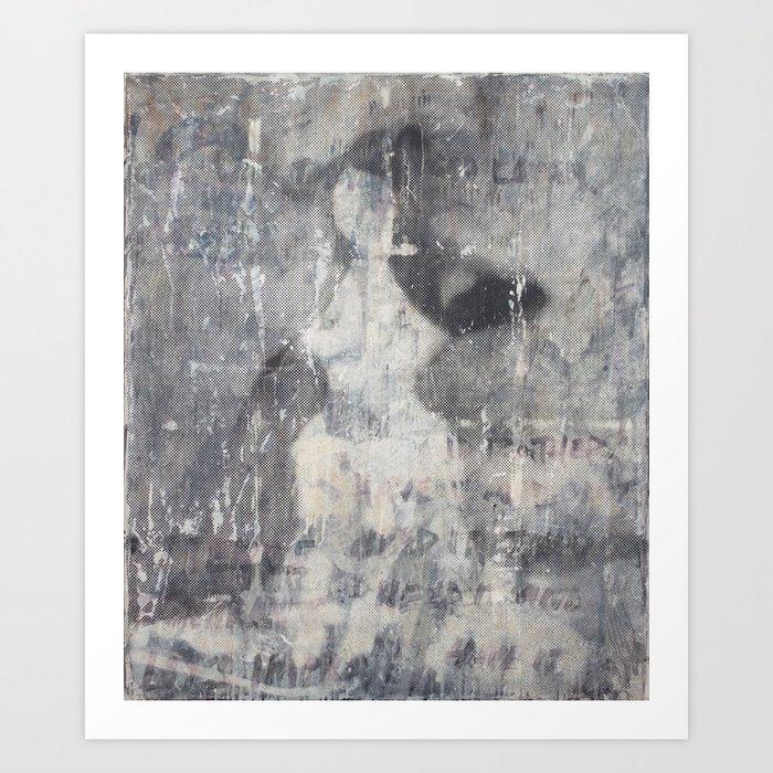 Electric Kiss Art Print