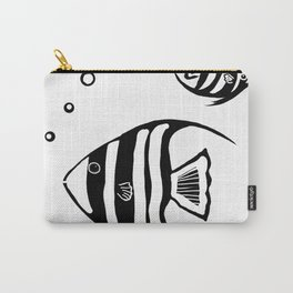 Two Angel Fish Carry-All Pouch