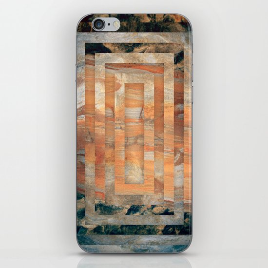 Cave abstraction iPhone Skin